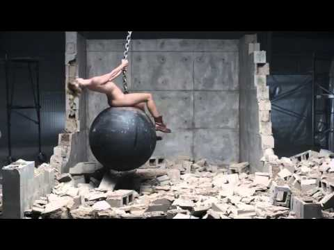 Miley Cyrus  Wrecking Ball NO MUSIC SOUND DESIGN