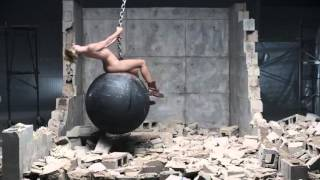 Repeat youtube video Miley Cyrus - Wrecking Ball [NO MUSIC SOUND DESIGN]