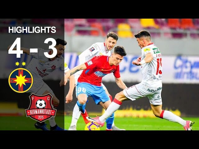 Rezumat: FCSB - FC Hermannstadt 4-3 Etapa 1 Sezon 2019-2020