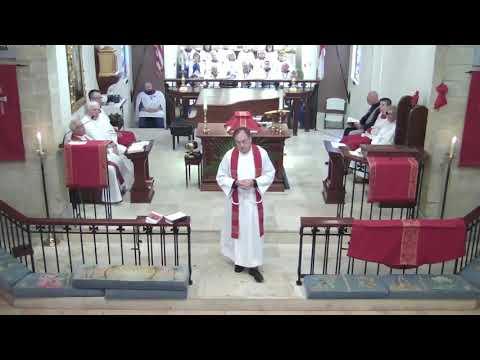Palm Sunday 2018, Fr Todd Cederberg