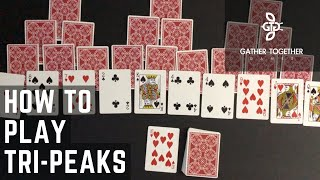 How To Play Tri Peaks Solitaire screenshot 1