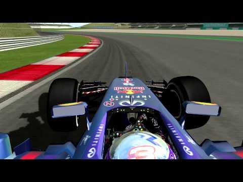 rFactor F1 2014 - Daniel Ricciardo Onboard in Malaysia