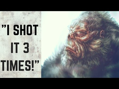 10 True TERRIFYING Encounters with Bigfoot! (