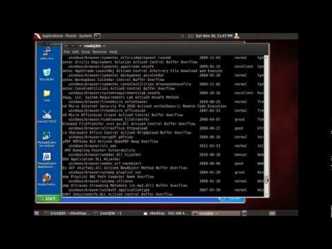 How to execute a client side exploit with Metasploit and Backtrack5