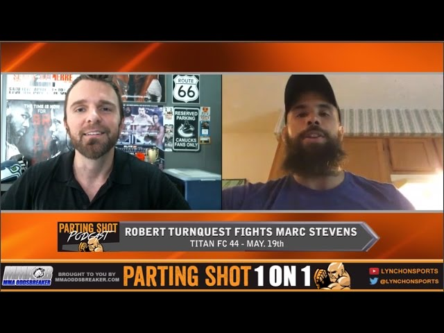 "Titan FC 44's Robert Turnquest ""I'm using Marc Stevens as a stepping stone"""