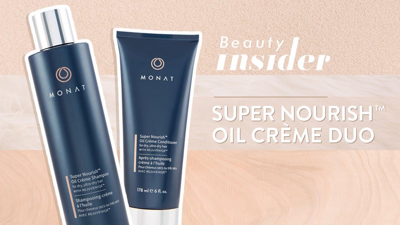 Beauty Insider Monat Super Nourish Oil Creme Shampoo And