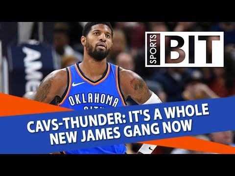 Cleveland Cavaliers at Oklahoma City Thunder | Sports BIT | NBA Picks