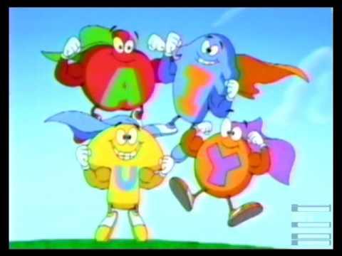 Alpha Bits Super Shapes Cereal Commercial 1997