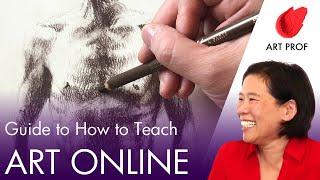 5 Tips for Teaching Studio Art Online