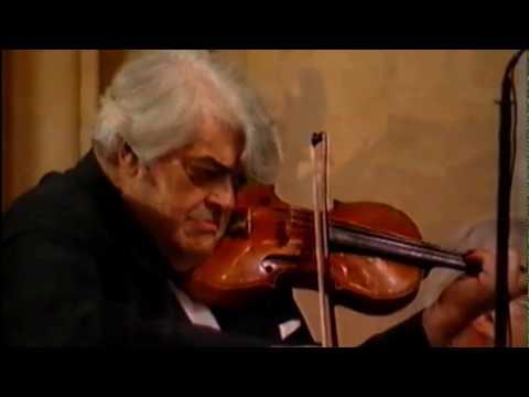 Norbert Brainin C=256Hz 1995 Concert