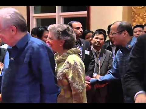 Gala Dinner hosted by Lao PDR President Choummaly Sayasone 11/05/2012
