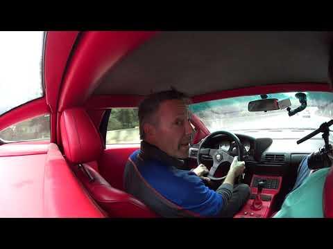 Test Drive In The Cizeta Moroder V16T Prototype