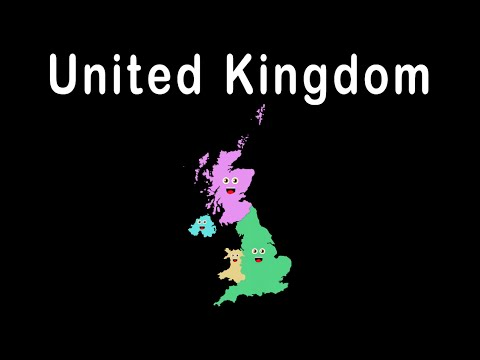 UK Countries and Capitals/ UK Countries Song