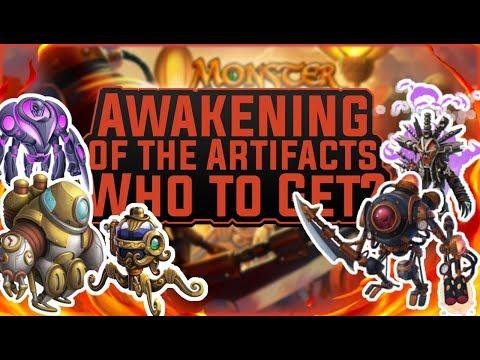 Monster Legends | Awakening of the Artifacts Progressive Island | Monster Analysis & Who To Get?