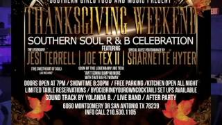 Thanksgiving Weekend Southern Soul RnB Celebration !