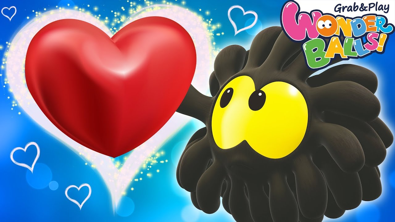 SQUISHY BALLS Vs Valentines Day Funny Videos For Kids Cute