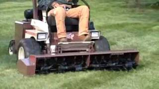 AERA-vator™ Lawn Aerator | Grasshopper Mowers