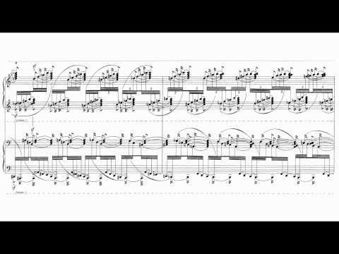György Ligeti - Three Pieces For Two Pianos [3/3]