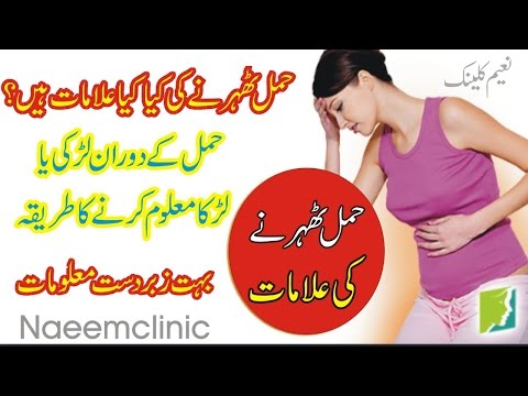 Alamat Hamal Pregnancy Ki,Hamal Ka Pata Karna,Naeemclinic Beta Paida Karnay Ka Course,حمل کی علامات