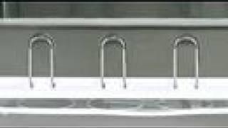 Simplehuman steel frame dishrack