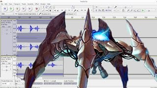 Tutorial: How to make a Dragoon voice in Audacity