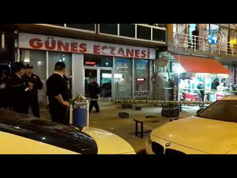 Kars'ta Faikbey Caddesinde Silahlı Kavga, 1 Yaralı