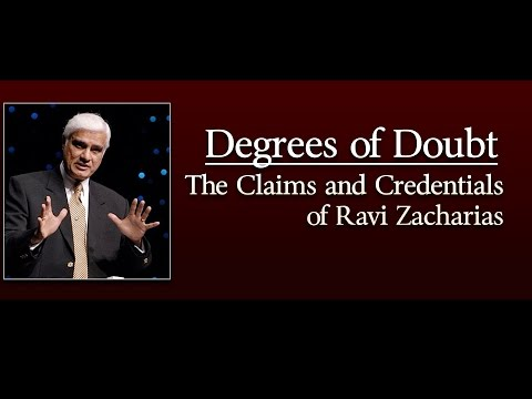 Degrees of Doubt: The Claims and Credentials of Ravi Zacharias (TTA Podcast 325)