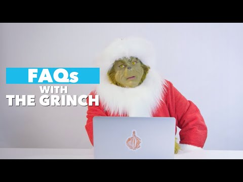 The Grinch Answers the Internet's Most Searched Questions