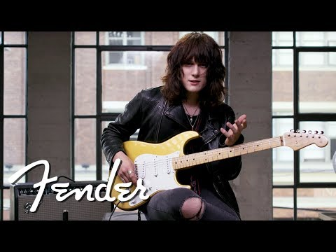 Tyler Bryant Demos The &39;50s Stratocaster®  American Original Series  Fender