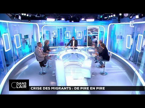 Crise des migrants: de pire en pire #cdanslair 08.07.2017