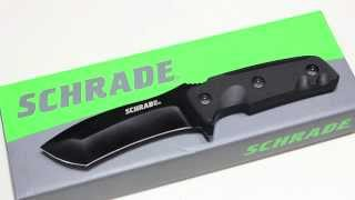 Schrade Schf33: The Bulldog Fixed Blade - Survival Knife?  Utility Knife?