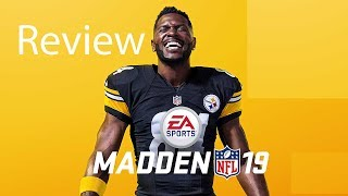 Madden NFL 19 Xbox One X Gameplay Review