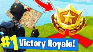*NEW* SECRET TREASURE MAP in Fortnite Battle Royale!