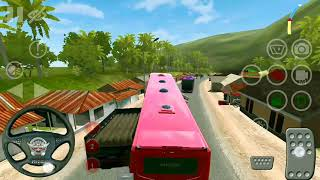 Bus simulator Indonesia update hino 1j bus game by android phone part 3