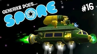 "Spore Ep 16 - ""Emeralds In Spaaaace!!! (Space Era)"""