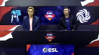 ESL Vietnam Championship Season 2 - DOTA 2: Semi-final (496 vs Immortals, SSG vs SH)