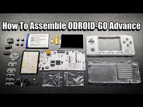 How To Assemble ODROID-GO Advance