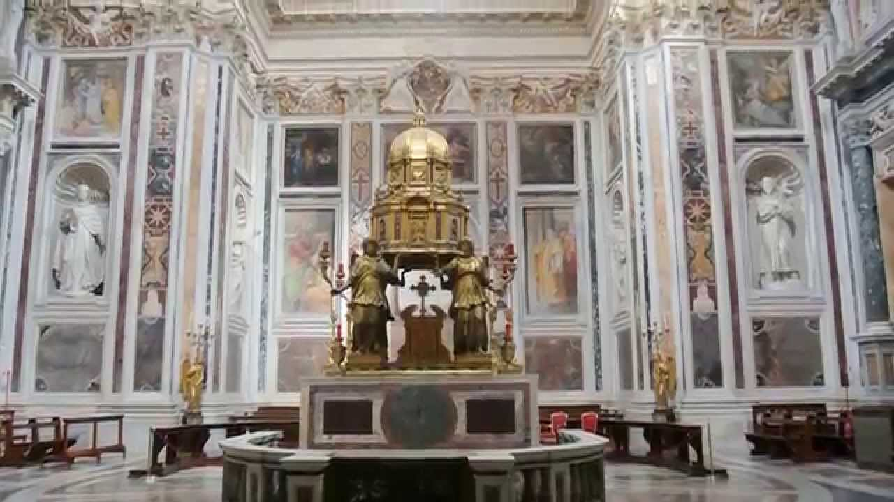 Roma basilica di santa maria maggiore 2 5 interni youtube for Corso di arredatore d interni roma
