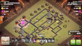 Clash of Clans 3 Star Attacks #43 // Stoned Hobo!