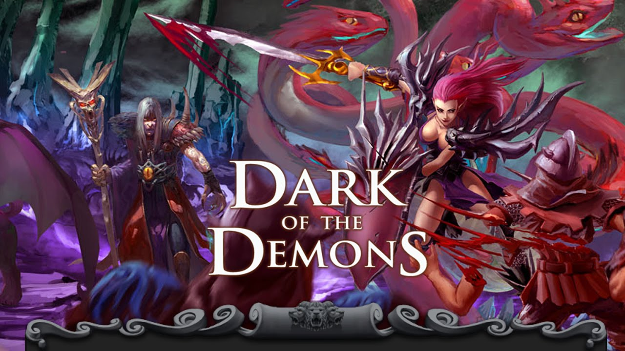 Dark of the Demons RPGs games for iPhone