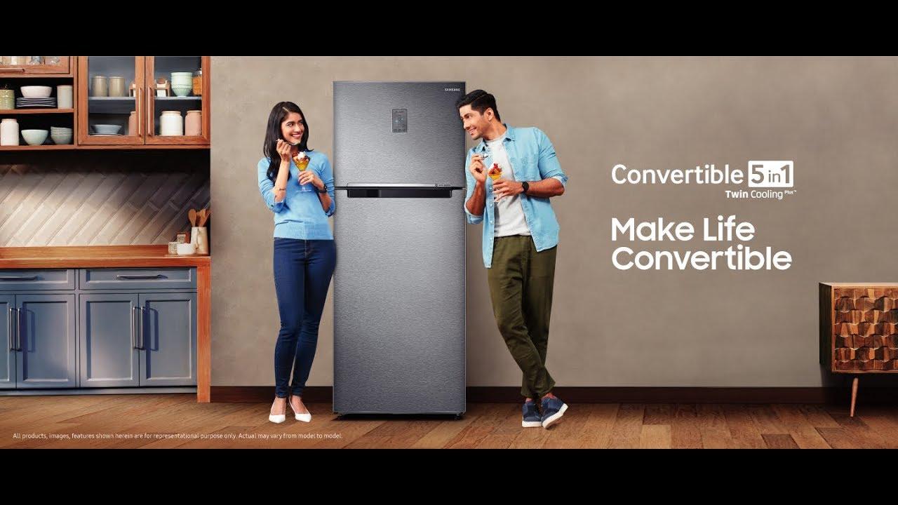 Smart Convertible Refrigerator - 5 in 1 Fridge | Samsung India