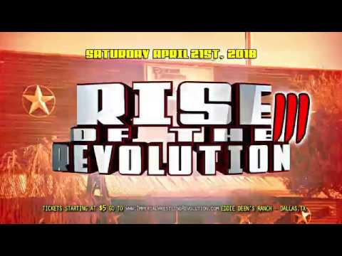IWR - Rise of the Revolution III Featuring Jim Ross, Jesse Jane and MANY MORE!