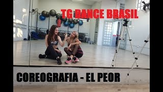 Coreografia Fitness - Chyno Miranda, J. Balvin - El Peor