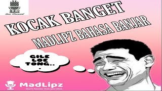 "Madlipz Bahasa Banjar #13 ""Pinalty Messi Gagal"""