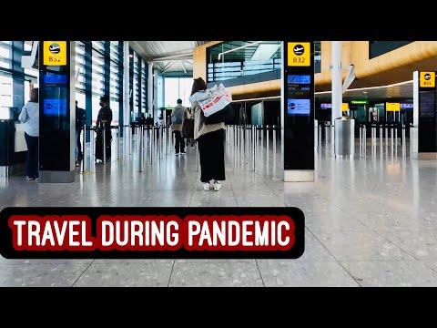 Walking London Heathrow, Bahrain and Manila Airports