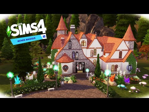 SPELLCASTERS FAMILY HOUSE – Stop Motion Speed Build (NO CC) – The Sims 4