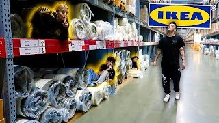INSANE HIDE AND SEEK IN IKEA!!