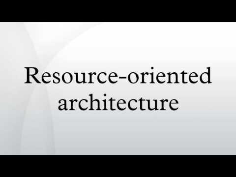 Resource-oriented architecture