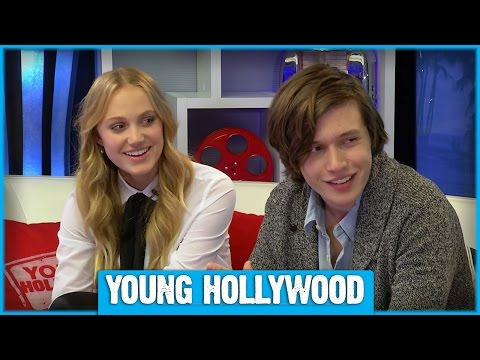 Maika Monroe & Nick Robinson on Nicknames & First Crushes