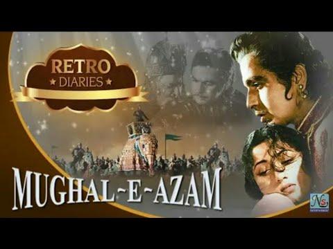 मुग़ल ऐ आज़म Mughal E Azam B&W 1960 - Historical Movie | Prithviraj Kapoor, Dilip Kumar, Madhubala